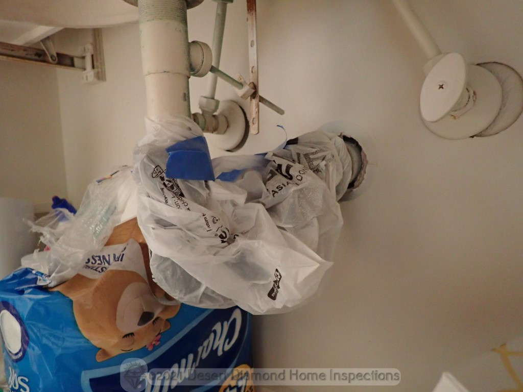"""This """"repair"""" was probably not done by a licensed plumber..."""