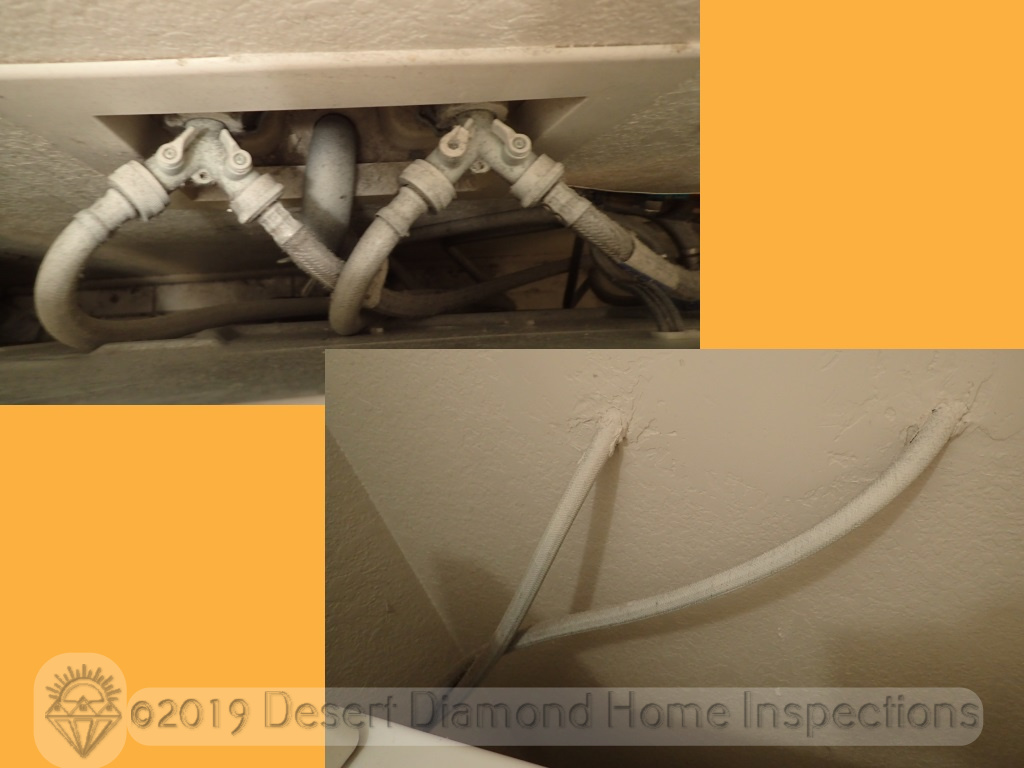 Washer hoses for shower