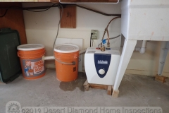 Another use for 5-gallon buckets: homemade sediment trap