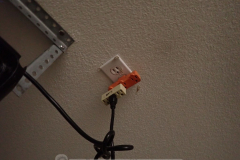 What else would you possibly plug into the ceiling outlet?