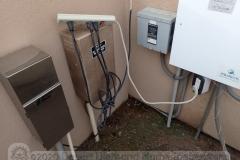 Power strip outdoors