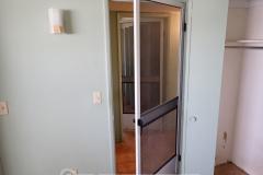 Bedroom door upgrade - because why not?