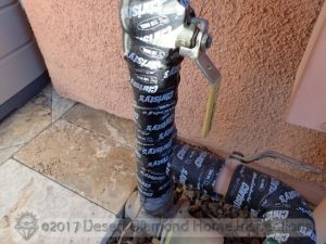 Insulated water pipe