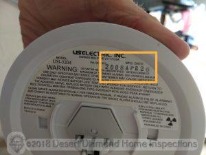 Smoke Alarm Manufacturing Date