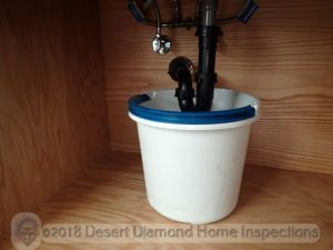 Clean out sink drains