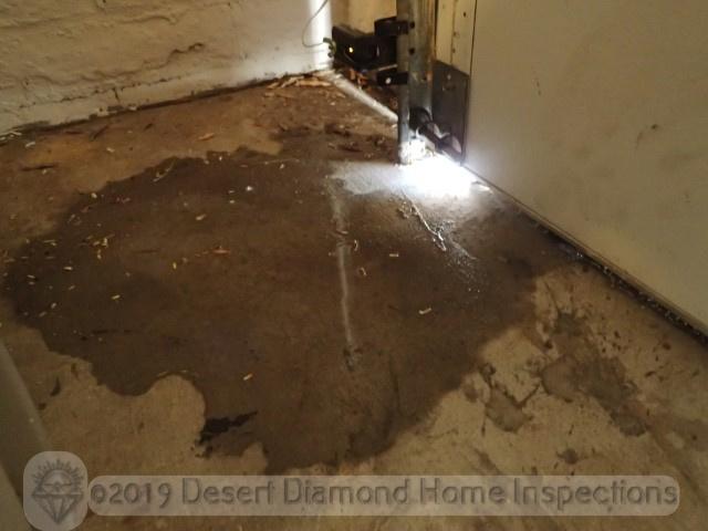 Missing garage door weather stripping