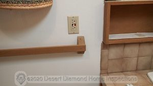 GFCI outlet in bathroom