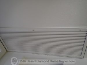 Air filter in ceiling air return